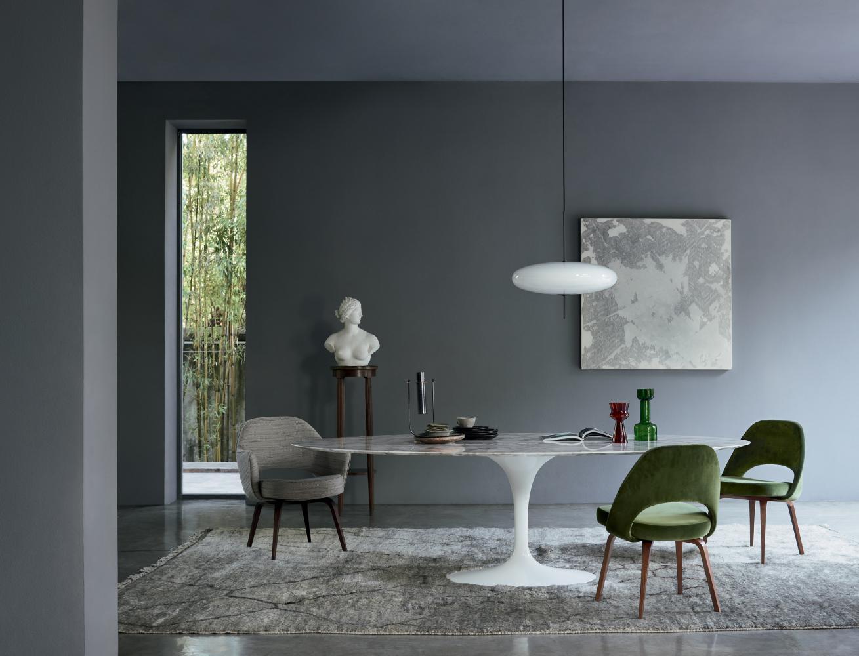 Saarinen Tafel Ovaal : Saarinen eero saarinen designer dedece the visionary workaholic