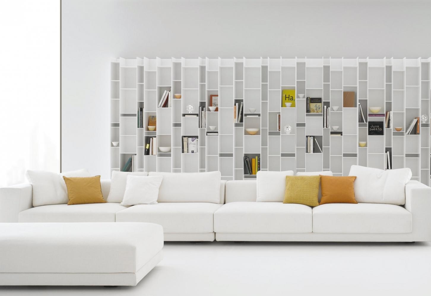 Mdf italia random boekenrek design neuland industriedesign for Libreria roche bobois