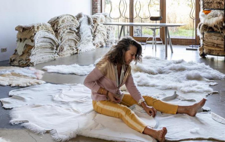 Carine Boxy, unieke tapijten